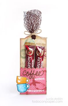 What A Treat Wednesday – Coffee Treat Bag - My Creative Time! stamps and dies « Todo con Papel