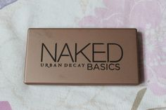 Woo Be Red: Urban Decay Naked Basics Palette - Giveaway!