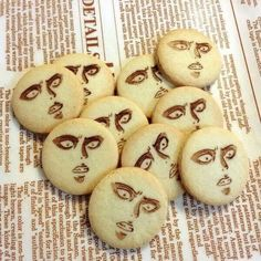 Rivaille (Levi) cookies-haha oh my gosh I want some