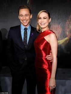 Action packed:Brie stars opposite Tom in Kong: Skull Island, an action film about a group of explorers who travel to a uncharted location where the legendary King Kong lives