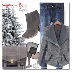 """""""37. sammydress.com/?lkid=322890"""" by goldenhour ❤ liked on Polyvore featuring Yves Saint Laurent"""