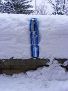 Yooper snow measure