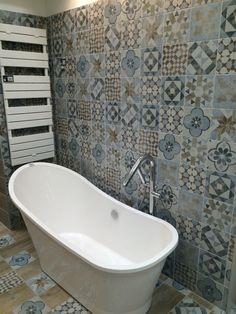 Piastrella Villa 20 x 20 grigio  BAGNO PICCOLO ...