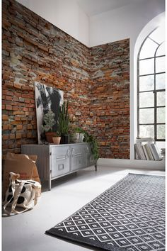 Brewster Home Fashions Bricklane Wall Mural