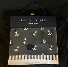 Ralph Lauren Fabric Sample Book Maritime Outdoor 38 Pieces Crafting Scrapbooking #RalphLauren