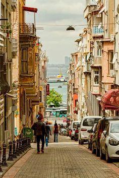 Kadıköy Yeldeğirmeni houses Istanbul.