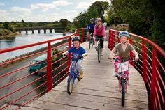 The Great Western Greenway offers a safe, off-road cycling experience - and flat too! Le Connemara, Westerns, Off Road Cycling, Stuff To Do, Things To Do, Great Western, Land Of Enchantment, Family Adventure, Ireland Travel