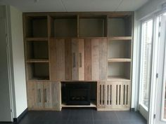 steigerhout kast oude deuren | woonkamer | pinterest | kast, Deco ideeën
