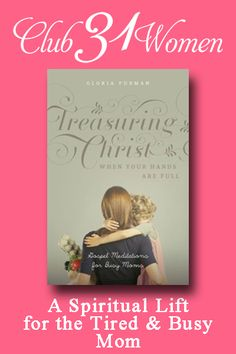 If you're a tired and busy mom who could use some spiritual encouragement? Here is a book that can help you treasure Christ more deeply no matter how busy you are. Refreshing and encouraging!