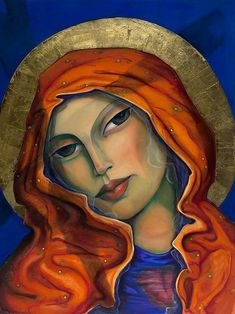 """Miguel's newest Giclee """"Our Lady of Mercy"""" at the Michael McCormick Gallery www.mccormickgallery.com"""