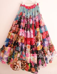 Skirt Fashion, Fashion Dresses, Steampunk Fashion, Gothic Fashion, Hippie Skirts, Hippie Look, Gypsy Skirt, Gypsy Style, Dance Outfits