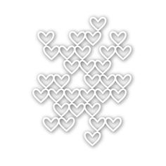 Simon Says Stamp STACKED HEARTS Wafer Die SSSD111540 DieCember