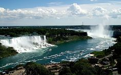 Niagara Falls in Ontarion & New York