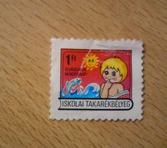 Iskolai takarékbélyeg Hungary, Stamps, Posters, Fictional Characters, Art, Seals, Art Background, Kunst, Poster
