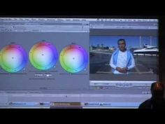 Final Cut Pro Colour Grading Seminar by Peter Cave (Part 1 of 9) - YouTube