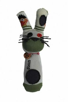 youVE found us, youVE found a way to save the world | BunnySocks.org | this is #69 | ernie, this time without bert.  but well, you never know maybe he will cross our way in the future. | #recycle #charity #unique #childrensaid #map #toy #organic #sock #bunny #project