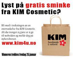 Gratis sminke fra KIM Cosmetic