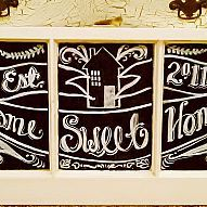 Transform an Old Window With Chalkboard Paint & Markers...»