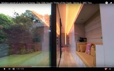 Modern secret of a victorian home - The House: Tricks of the Trade - Series 2 - BBC Two Bbc Two, Indoor Outdoor Living, Live Tv, Victorian Homes, Future House, House Design, Luxury, Modern, Houses