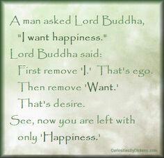 """I want happiness..."""
