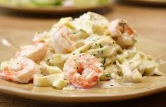 Shrimp Fettucini Alfredo Recipe Shared by Lisa Lillien on Dr Oz