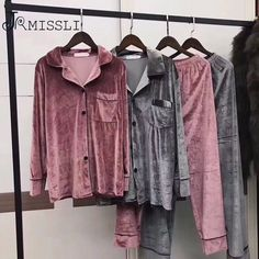 Modern Filipiniana Dress, Cute Sleepwear, Fleece Pajamas, Winter Fashion Outfits, Pajamas Women, Women Lingerie, Pajama Set, Lounge Wear, Pajamas Winter