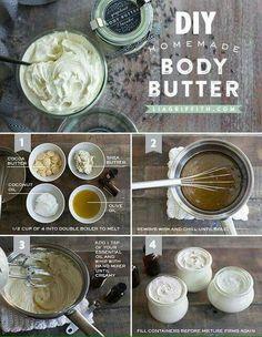 DIY body butter                                                                                                                                                                                 More