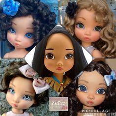 Ooak Dolls, Blythe Dolls, Girl Dolls, Baby Dolls, Disney Animators, Disney Animator Doll, Disney Princess Dolls, Disney Dolls, Newberry Dolls