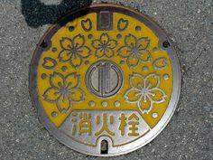Japanese manhole covers. By MRSY, via Flickr