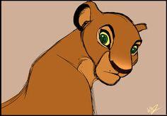 Custom Character: Anira by WhiteDansha on DeviantArt The Lion King 1994, Lion King 2, Lion King Movie, Disney Lion King, Lion King Story, Lion King Fan Art, King Art, Animal Drawings, Cool Drawings