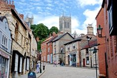 Steep Hill, Lincoln, Lincolnshire, England