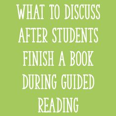 In today's post, I'll explain how I choose strategies to focus on after students finish reading the book in a guided reading lesson! Guided Reading Activities, Reading Lessons, Reading Resources, Reading Strategies, Reading Skills, Teaching Reading, Reading Comprehension, Esl Resources, Writing Activities