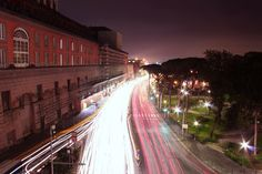 Anothe beautiful photo of Naples  at Night.  Here we are close to Piazza Plebiscito; Downstairs there is Via Acton a way that connect Naples promenade to Naples Port.