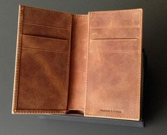 Antique Brown Iphone 5, Iphone Wallet, Wallets, Card Holder, Antiques, Brown, Cards, Handmade, Dime Bags