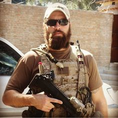 DEVGRU operator with a beard and somewhere downrange, c. x : MilitaryPorn
