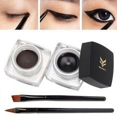 Strong-Willed Eyeliner Double Head Durable Waterproof Black Wing Seal Eyeliner Eye Makeup Beauty Pencil Tool Maquillage Skilful Manufacture Beauty Essentials Eyeliner