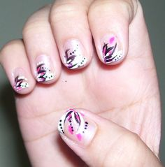 The Beautiful Short  Nails Art Überprüfen Sie mehr unter http://frisurende.net/the-beautiful-short-nails-art/2531/