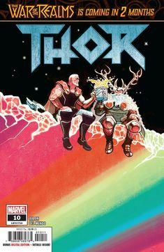 Thor Comic Issue 10 Modern Age First Print 2019 Jason Aaron Del Mundo Alfonso Marvel Comics, Marvel E Dc, Marvel Comic Books, Comic Books Art, Marvel Avengers, Comic Art, Book Art, Marvel Universe, Loki