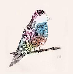 Animal Ink Series by Lily Li, via Behance
