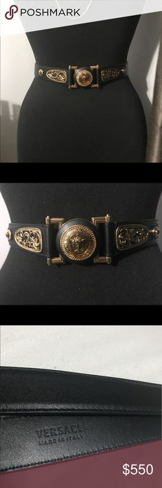 🌟Authentic🌟 Women's Versace Belt . Brand New Women's Authentic Versace Belt Brand New . If you should have any questions feel free to ask . negotiable Versace Accessories Belts