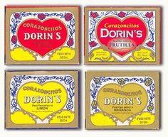 Mis favoritos, corazoncitos Dorin's de frutilla!!!