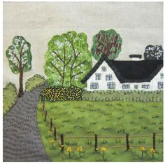 Picture - spring at the country - KIT