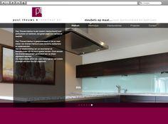 Klant: Paul Teuws Interieur. Gerealiseerd door Webbees: webdesign en technische realisatie. www.paultheuws-interieur.nl