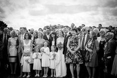 wedding group photo, wedding family