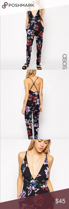 🌺ASOS JUMPSUIT🌺 In GOOD CONDITION NO STAINS NO HOLES! ASOS Pants Jumpsuits & Rompers
