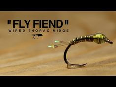 Wired Thorax Midge Fly Tying Tutorial | The Fly Fiend. - YouTube