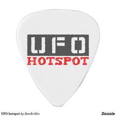UFO hotspot Guitar Pick