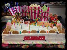 wreck+it+ralph+sugar+rush+cake   Ideas / Sugar Rush Speedway Birthday Cake Starring Wreck It Ralph ...