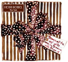 Because all the best gifts...come in brown & white boxes.