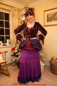 Victorian Style Gypsy Rosa Jacket Bohemian Gipsy by RagsForGypsies